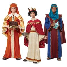 Nativity Costumes for Kids Three Wisemen Kings Christmas Fancy Dress in Clothing, Shoes & Accessories, Costumes, Reenactment, Theater, Costumes | eBay