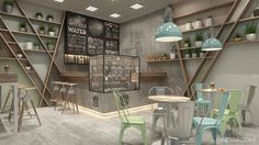 Little coffee shop in Kyiv on Behance
