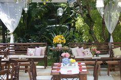 Decoração Lanna Corrêa. #decoração #casamento #casamentorustico #wedding #rusticwedding  #flores #weddingflowers