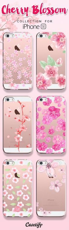 Where flowers bloom so does hope.. Shop these beautifully designed cherry blossom cases here: www.casetify.com/... | @Casetify