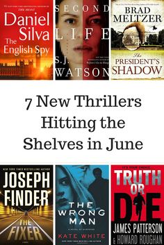 New novels from Daniel Silva, Brad Meltzer, James Patterson, and more!