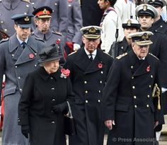 Royal Family / Poppy Day