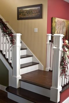 Traditional Staircase Photos Painted Stairs Design, Pictures, Remodel, Decor and Ideas - page 11