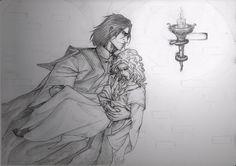CoMC: Snape to the rescue by Cissy-88.deviantart.com on @deviantART