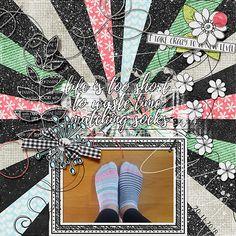 Matching Socks, Digital Scrapbooking, Card Ideas, Fonts, Artsy, Layout, Create, Shop, Designer Fonts