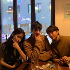 Image may contain: 3 people, people sitting and indoor Korean Best Friends, Three Best Friends, Boy And Girl Best Friends, Cute Friends, Cute Instagram Pictures, Cute Friend Pictures, Best Friend Photos, Best Friend Goals, Ulzzang Couple