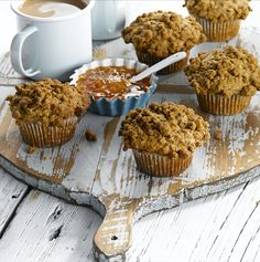 All-Bran™ Classic Bran Muffins Recipe - Hearty, moist and not too sweet, these classic muffins combine vanilla and cinnamon for an extra rich flavour. #AllBran #Recipe #Fibre #Classic #Bran #Muffin
