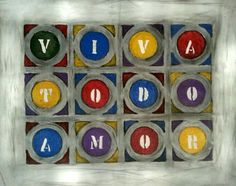 LA VIDA by Caranguexo, 2014, acrylic on canvas, h:60 x w: 40