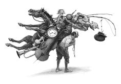 Ukrainian artist / Владислав Єрко. Ілюстрація до книги Гамлет / Hamlet illustrated by Vladislav Erko. Book illustration.