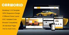 Car World - Car Dealer HTML Template