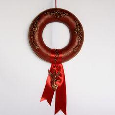Swarovski, Drop Earrings, Jewelry, Xmas, Holiday Wreaths, Jewlery, Jewerly, Schmuck, Drop Earring