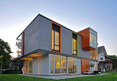 O-S House, Racine, Wisconsin It's not just big buildings with big budgets that can set an example. Two thirds of the rainwater this family home receives is fed into a groundwater percolation area; the rest is stored in large...