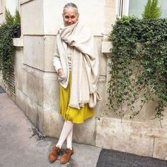 This 69-Year-Old Parisian Has Amazing Style via @WhoWhatWearAU