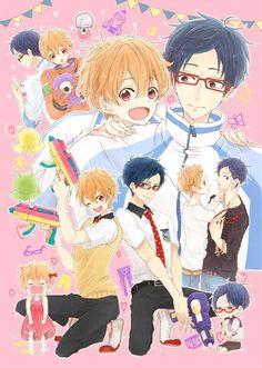 Free! - Iwatobi Swim Club, free!, iwatobi, rei ryugazaki, rei, ryugazaki, nagisa hazuki, hazuki, nagisa, scientist, alien, astronaut