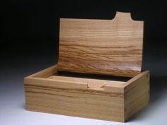 Tilt hinge box - Box Galleries - Peter Lloyd