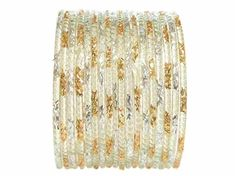 Clear Indian Glass Bangles