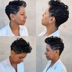 Sassy Short Haircut and Style by Kelsey at Largo location! #shorthair #haircut #hairstyle #salonchristol