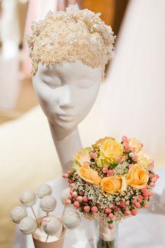 Niely Hoetsch headpieces at Brautsache Fair in Palais Niederösterreich, Vienna (Austria), february 2015. Photo by Elena Azzalini Photography www.elenaazzalini.com. Vienna Austria, February 2015, Headpieces, Crown, Bride, Photography, Wedding, Inspiration, Fashion