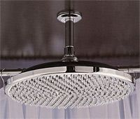 Ceiling Shower Head....how to talk my dad into putting these in.....