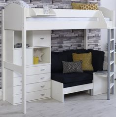 60c39f0b5a89 18 best Beds with Sofas images in 2019   Bed storage, Beds, Bunk bed ...