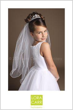 holy communion portrait for girls | first holy communion | philadelphia children's photographer » LORA ...
