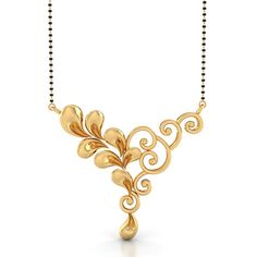 Buy gold mangalsutra for Women with different sizes, designs and online starting price RS. BIS hallmark gold and IGI certified diamond. Gold Mangalsutra Designs, Gold Earrings Designs, Gold Jewellery Design, Gold Jewelry, India Jewelry, High Jewelry, Beaded Jewelry, Long Pearl Necklaces, Gold Necklace