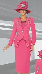 Style : BM47707-IH Sizes : 12 14 16 18 20 22 24 Colors : Rose, Black ( 3pc PeachSkin Ben Marc Designer Sunday Suit ) Regular Price : $301 Our Price : $251
