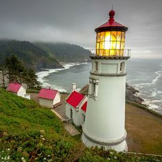 Heceta Head #Lighthouse - #OR http://www.roanokemyhomesweethome.com