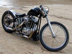 Bobber Inspiration   Ironhead bobber   Bobbers and Custom Motorcycles   xultimatumx June 2014
