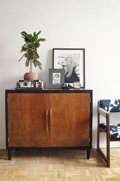 Diy mid century sideboard - Dr. Livinghome Decor