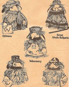 Reserved for Zac 1 Vintage McCalls 4780 Wombles Sewing Pattern Puppet Patterns, Sewing Patterns, Wimbledon Common, Cute Illustration, Hobbies And Crafts, Libraries, My Childhood, 1 Piece, Childrens Books