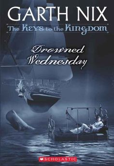 The Keys to the Kingdom #3: Drowned Wednesday by Garth Nix, http://www.amazon.com/dp/B003TU0WXI/ref=cm_sw_r_pi_dp_OG5rsb09EK5XC