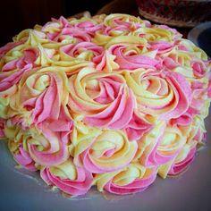Tarta de Limonada Rosa
