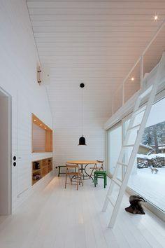 House in Brandenburg pine forest