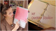 DIY: Caderno Fichário