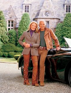Ralph Lauren and his wife Ricky.