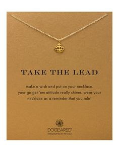 DOGERARED 'Take the lead' crown neacklace l l Hudson's Bay