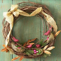 Natural Nest Wreath