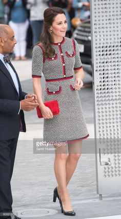 Catherine, Duchess of Cambridge makes an official visit to the new V