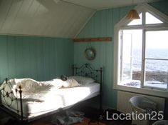* UK based location library for film and photographic shoots * Iron Bed Dormer Windows, Attic Bedrooms, Best Location, Beach Cottages, Coastal Living, Photo Shoot, Beds, Iron, Turquoise