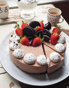 Vegan Cheesecake, Vegan Cake, Cheesecakes, Food Inspiration, Panna Cotta, Food And Drink, Sweets, Snacks, Cookies