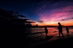 Dusk at Bonita Beach by Greg Heine