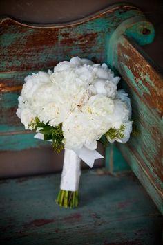 Peony bouquet. Love!