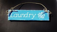 Hand Painted Wood Sign Wall Hanging Country by HandmadeByLeeAnn, $9.99