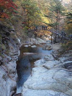 and Odaesan National Park, South Korea