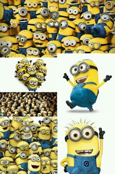 minions lots and lots of them
