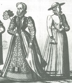 1550's English noblewoman & country gentlewoman