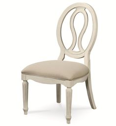 Summer Hill Pierced Back Side Chair by Universal