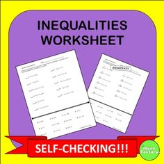 Fact Finder: Solving Inequalities | Shameless Promotions ...