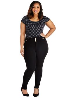 Better Shake Up Pants in Black - Plus Size, #ModCloth